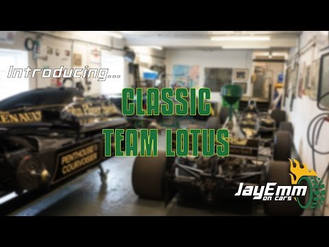 Introducing Classic Team Lotus - Custodians of Lotus