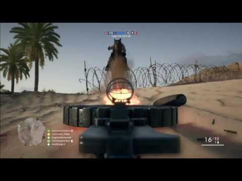 Battlefield 1 - Support Gunner Kills Montage |