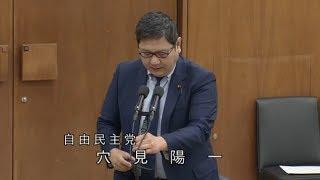穴見陽一 自由民主党 消費者問題特別委員会 衆議院 2018 11 20