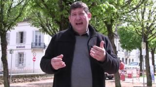 Enherbement du parc des Capucins et borne de recharge pour voiture à Avallon (89) - Édition 2017