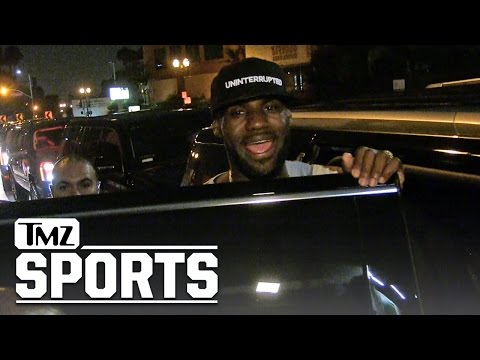 LeBron James -- I Suck In 'Trainwreck' ... But the Movie's Awesome!!