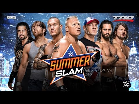 "WWE: SummerSlam 2016 - ""Back To The NYC"" - 3rd Official Theme Song"