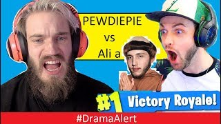 PewDiePie ROAST Ali-a Fortnite Click Baiter! #DramaAlert Myth & Prom - Lil Tay NOT ok!
