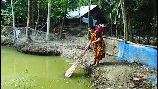Net Fishing | Catching Fish With A Cast Net | net fishing in village (Part-12)