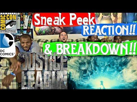 Justice League - Comic-Con Sneak Peek Reaction and Breakdown!