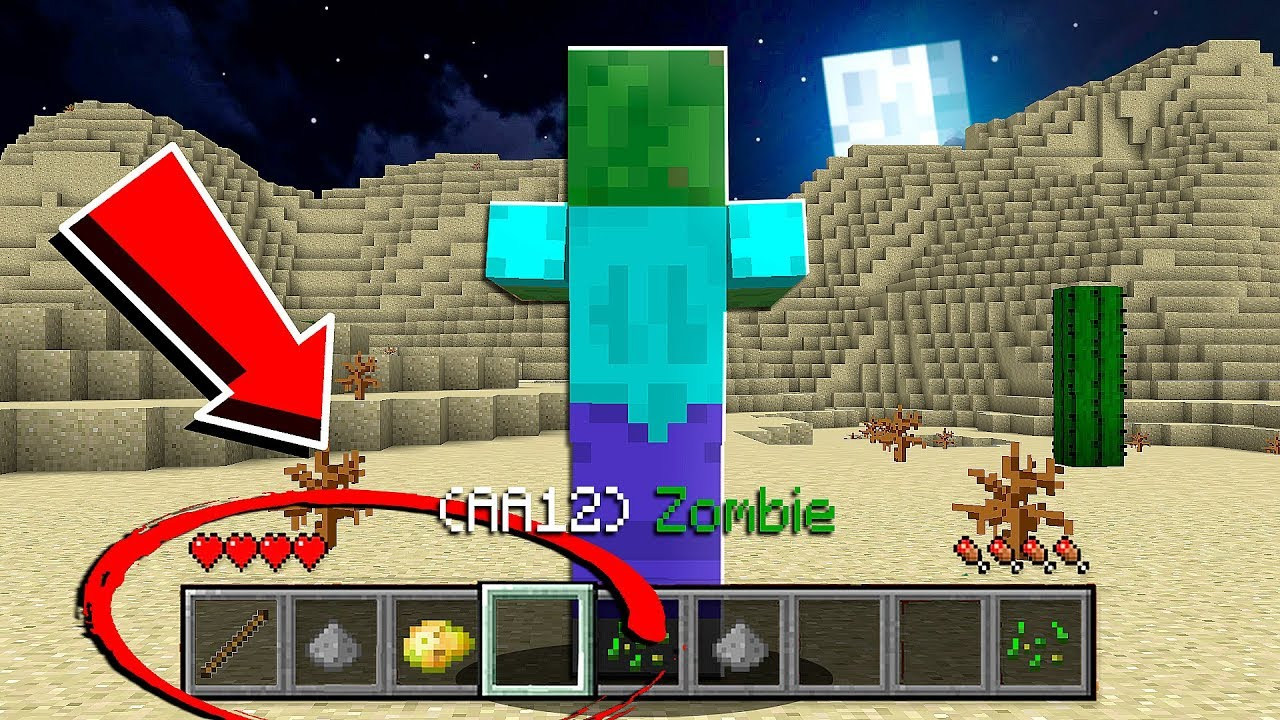 How To Play As A Zombie In Minecraft Pocket Edition Youtube