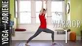 Warrior One Yoga Pose - Yoga With Adriene