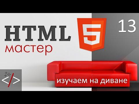 HTML формы - тег Input и валидация форм. Часть 1
