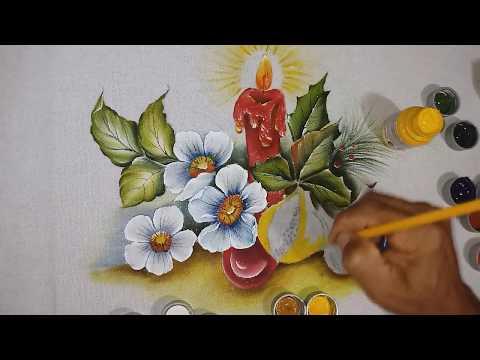 Roberto Ferreira -Roberto Ferreira - Aprenda a Pintar, rosas silvestres, Figo e Romam - Parte 2-