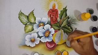 Aprenda a Pintar, rosas silvestres, Figo e Romam – Parte 2