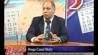 Oscar Sanchez intendente de Marcos Paz entrevista a Hugo Canal Bialy