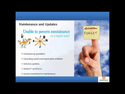 Enterprise Content Management on Cloud -- It's simple, affordable and safe