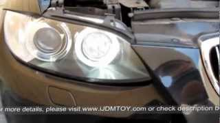 10W High Power H8 LED BMW Angel Eyes Kit for BMW 1 3 5 Series Z4 X5 X6