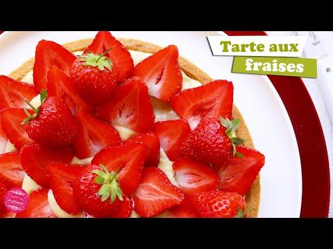 🍓-tarte-aux-fraises-traditionnelle-et-facile-🍓
