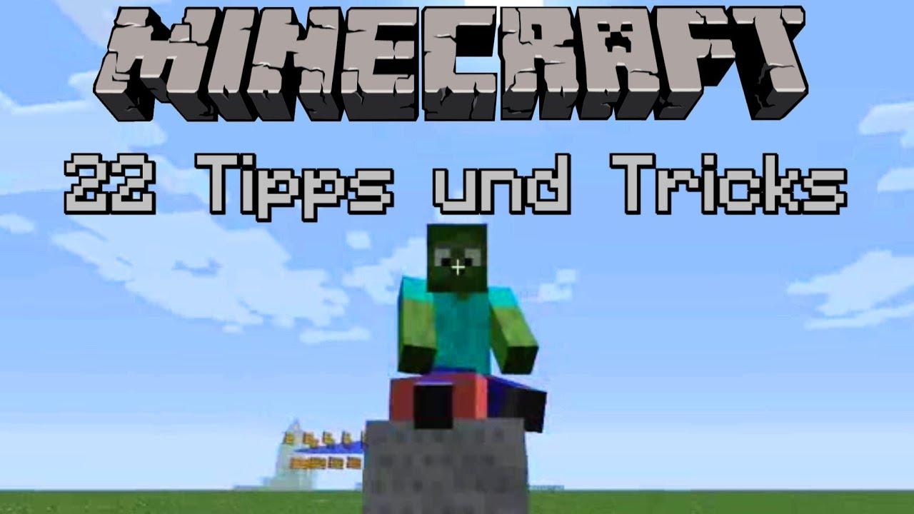 Tipps Und Tricks Für Minecraft YouTube - Minecraft wii u spieletipps