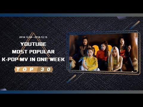 [TOP 30] MOST POPULAR K-POP MV IN ONE WEEK [20181209-20181215]