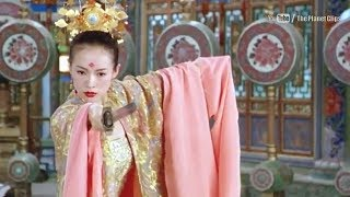 Blind Girl Sword Fight | Zhang Ziyi Vs Andy Lau | House of Flying Daggers