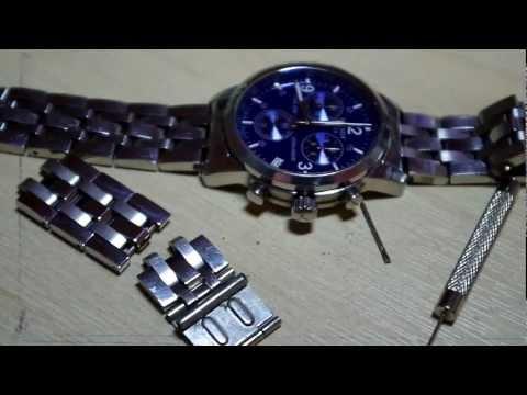 Tissot PRC200 watch strap adjustment