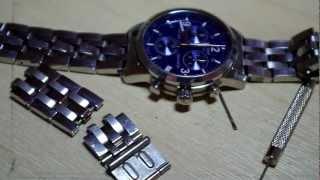Tissot PRC200 watch stŗap adjustment