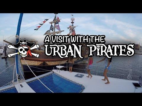 "SV BellaLuna: Bella's Locker - ""A visit with the Urban Pirates"""