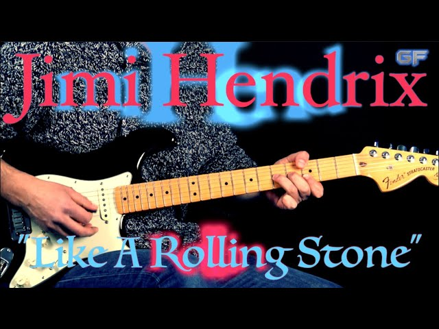"Jimi Hendrix - \""Like A Rolling Stone\"" (INTRO) - Rock Guitar Lesson (w/Tabs)"