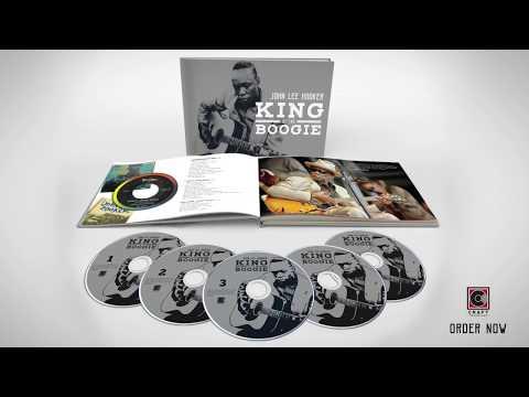 John Lee Hooker - King Of The Boogie -  Unboxing
