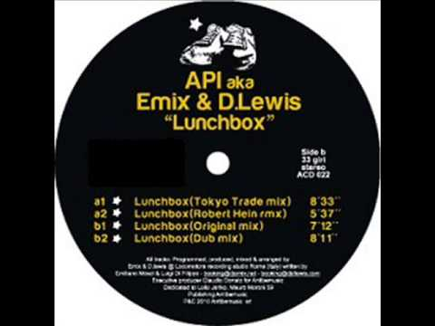 Api aka Emix & D Lewis - Lunchbox (original mix)