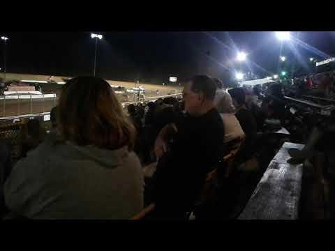 Sprint cars at Lernerville Speedway, July 27, 2018