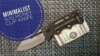 SOG Money Clip Minimalist Carry Knife