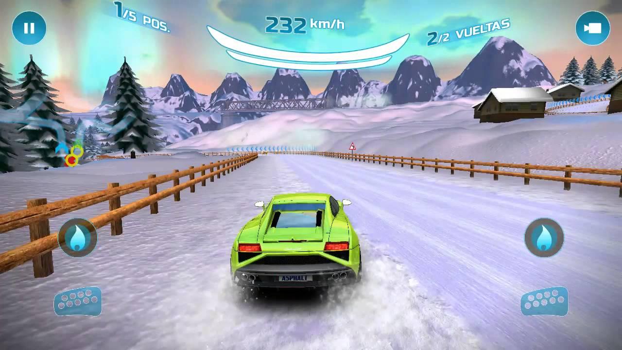 Asphalt Nitro Lamborghini Gallardo Gameplay Android