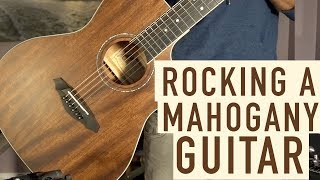 Rocking a Mahogany Guitar - Framus FG14 Acoustic Demo