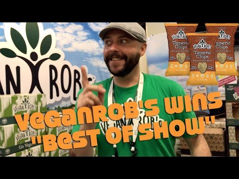 "Vegan Rob's - Hot New Chips Brand Wins ""Best Of Show"""