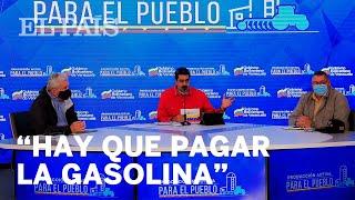 Maduro advierte a los venezolanos de que tendrán que volver a pagar la gasolina