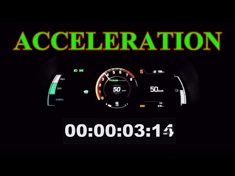 Hyundai Ioniq ACCELERATION 0 100 Hybrid 141 HP