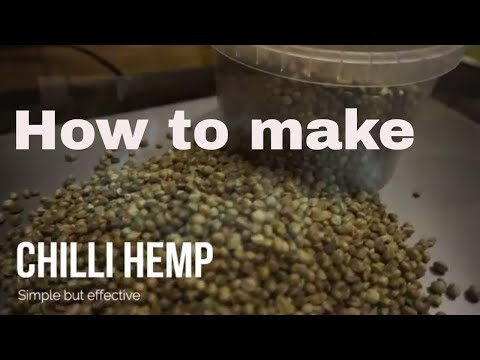 Cooking Chilli Hemp For Fishing