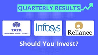 TCS, Reliance Industries, Infosys Quarterly Results - Should You Invest | Latest Stock Market News