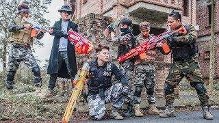 LTT Nerf War : Special Police SEAL X Warriors Nerf Guns Fight Criminal Group Dr Lee One Eye