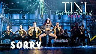TINI: Got Me Started TOUR - Sorry (Cover Justin Bieber)