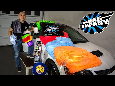 The Best Microfiber Towels and Detailing Product For Your Car! | The Rag Company Product Unboxing