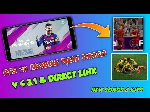 HOW TO INSTALL PES 20 MOBILE NEW PATCH V 4.3.1 ON MOBILE | A NEW PATCH BY QT PES | FULL TUTORIAL |