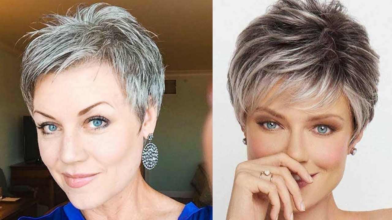 Best Short Haircuts For Older Women In 2018 Youtube