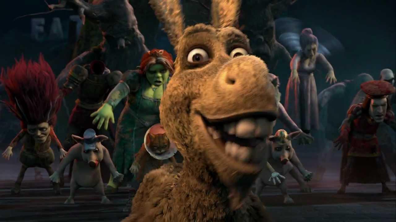 Shrek Thriller Homenaje A Michael Jackson Latino Youtube