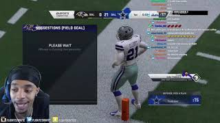 $2000 WAGER AGAINST TOP 20 RANKED IN THE WORLD MADDEN 20 PLAYER ZIAS & THIS HAPPENED...