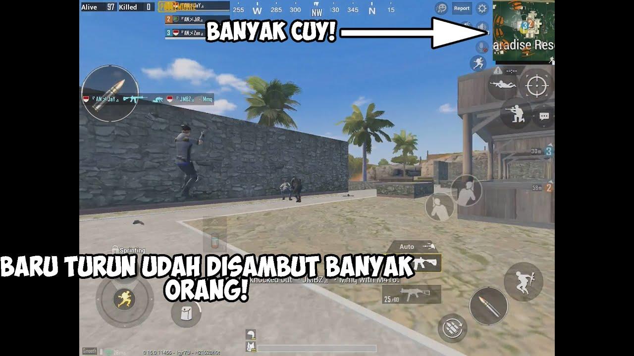 SAKING BANYAKNYA ORANG SAMPAI GK BISA BERCANDA SEBENTAR! - PUBG INDONESIA #1