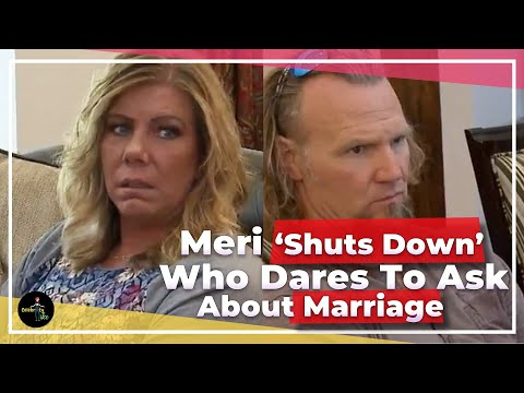 'Sister Wives' Meri Brown Shuts Down Troll Who Dares To Ask About Her Marriage from YouTube · Duration:  4 minutes 9 seconds