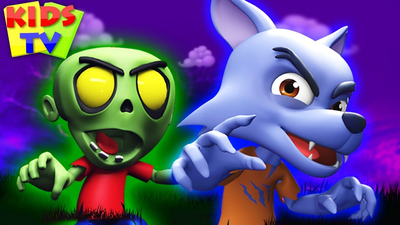 Its Halloween Night | Spooky Scary Rhymes for Kids | Super Supremes Cartoons