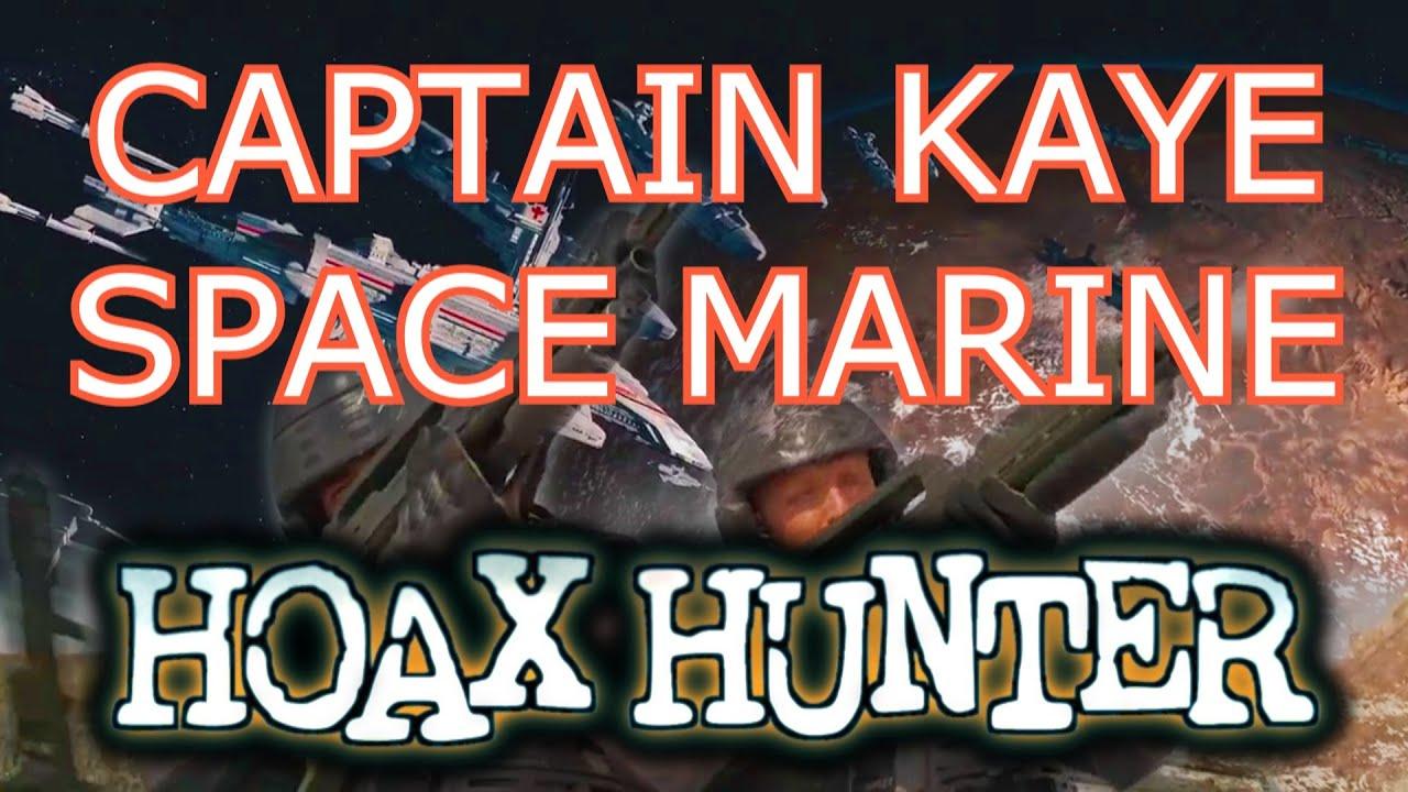 Captain Kaye Mars Starship Troopers Hoax Hunter