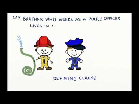 Non Defining Vs Defining Relative Clauses