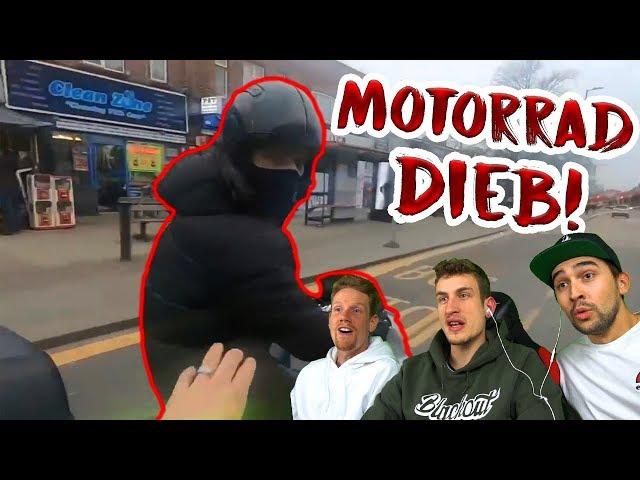 Verfolgungsjagd mit Motorrad-Dieb! | Reaktion