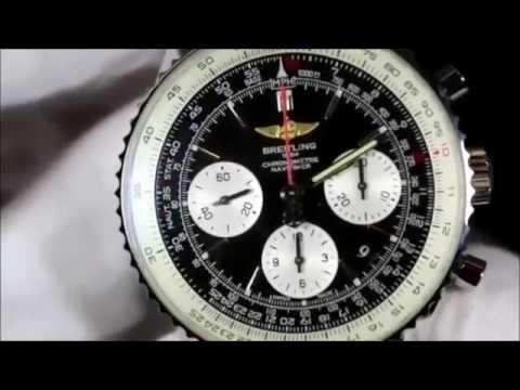 228b36197f0 Relógio Breitling Navitimer - YouTube